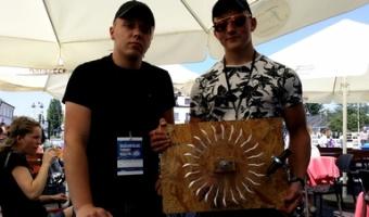 4 miejsce Piotra w finale ogólnopolskim Turnieju Maszyn Wodnych