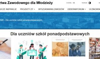 Niezbędnik Uczniowski na stronie Centrum Doradztwa Zawodowego
