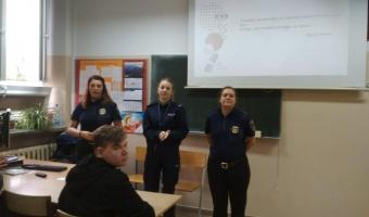 Policja i Straż Miejska z wizytą w naszej szkole